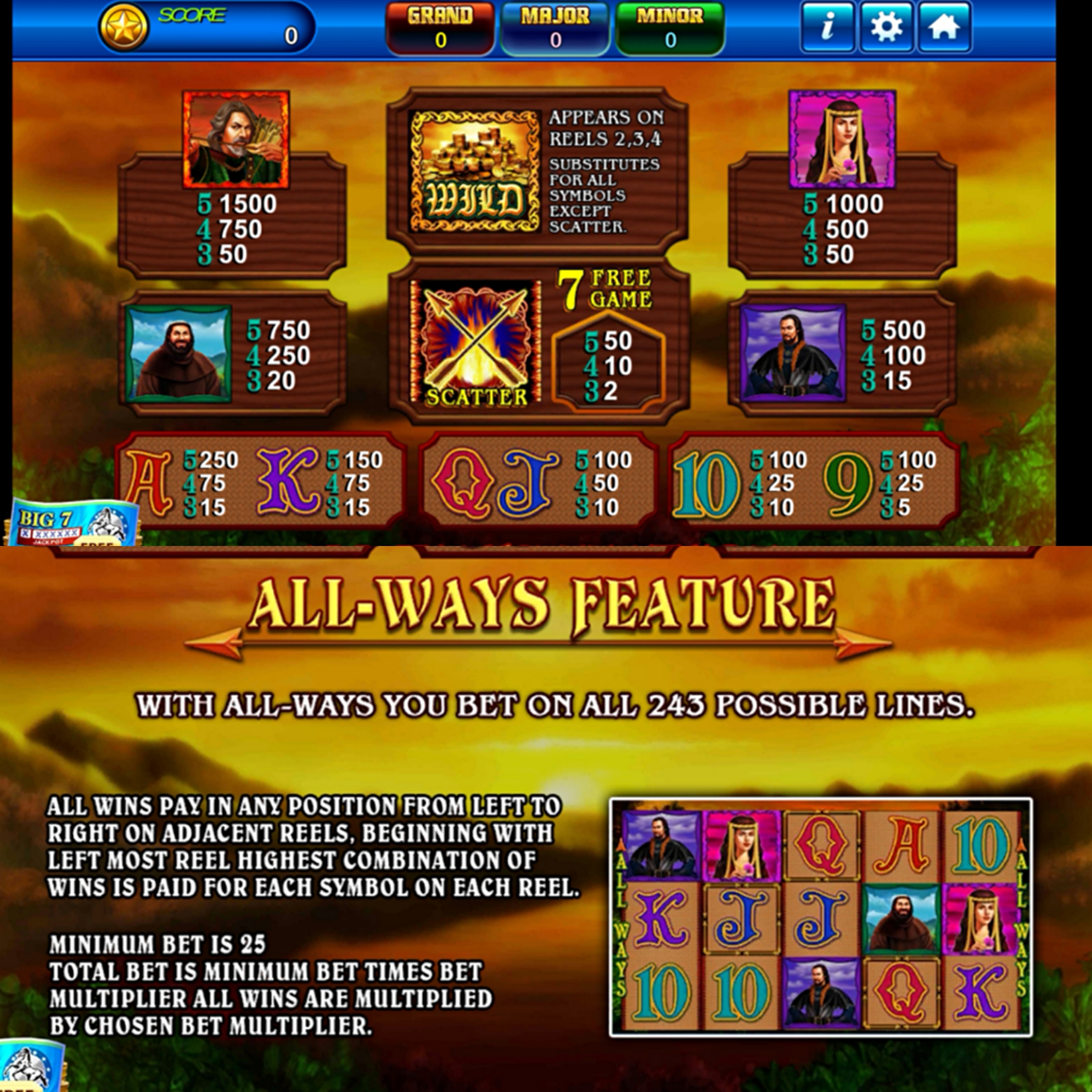 Start Playing Archer Mobile Slot with Real Money in GreatWall 99 Download
