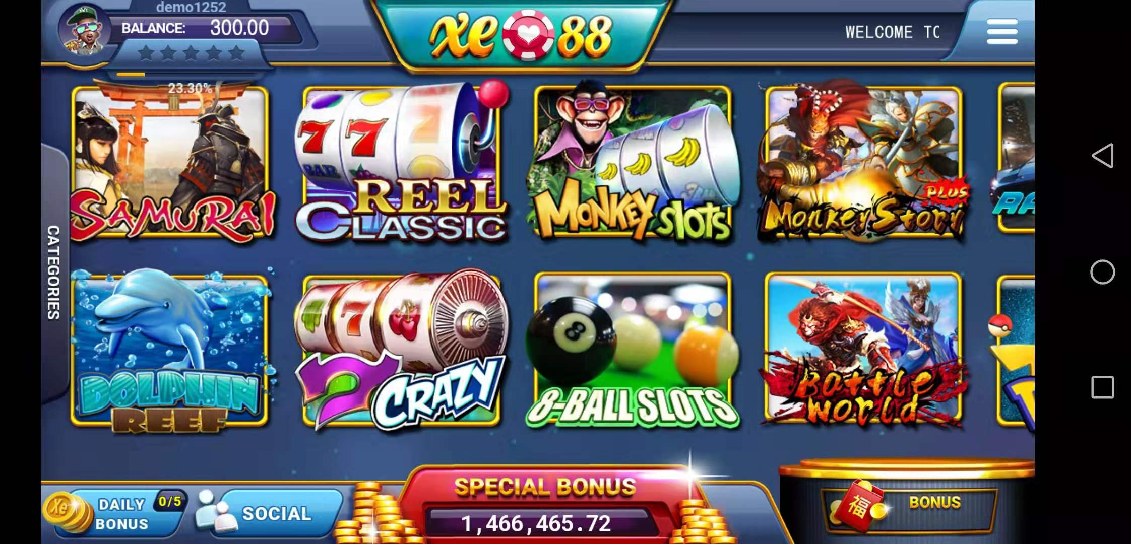 Overview of Funky Monkey Classic Online Slot in XE 88 Malaysia Betting Casino by Liveslot77