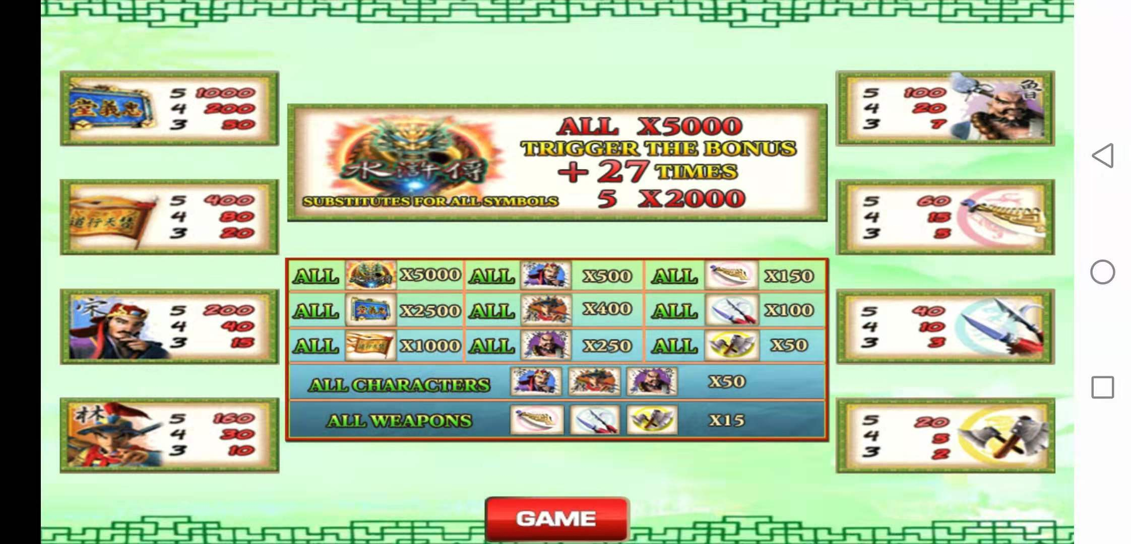How To Play Water Margin Online Slot in 918Kiss apk Free Download