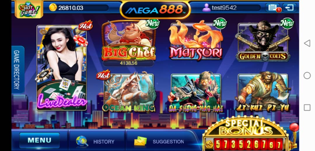 Verdict for Big Chef Video Slot in Mega888 Android iOS