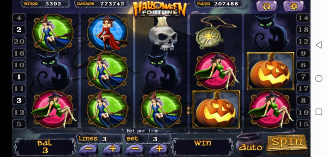 Review of Halloween Fortune Slot Machine in 918Kiss Login Free
