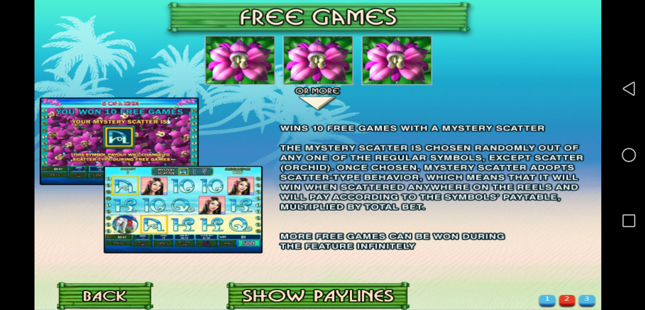 Earn Money in Thai Paradise Mobile Slot in kiosk XE88 Login