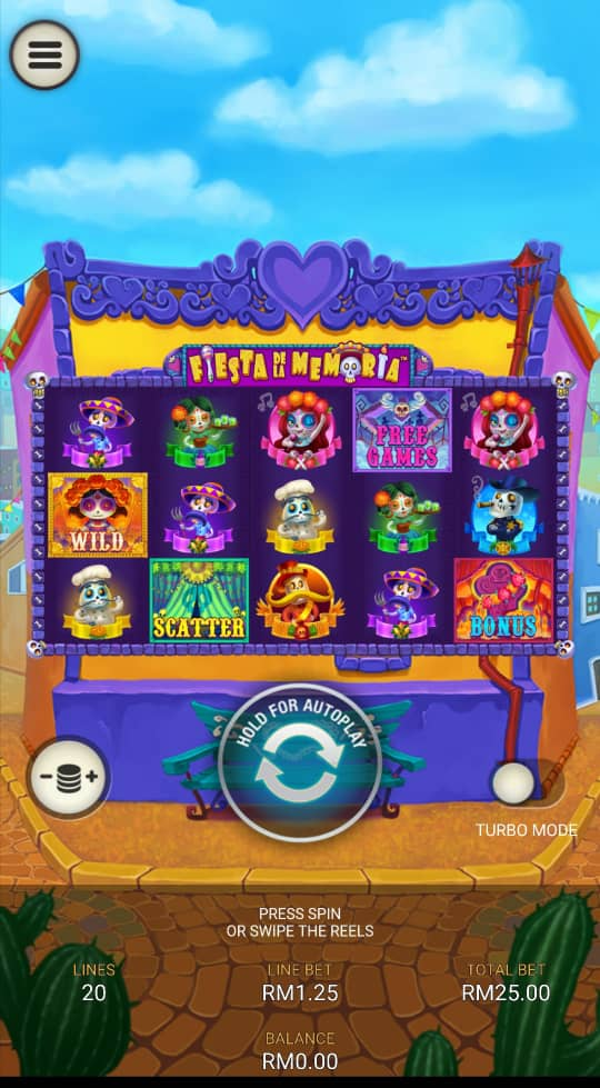 Introduction of Fiesta de La Memoria Slot in Newtown Casino