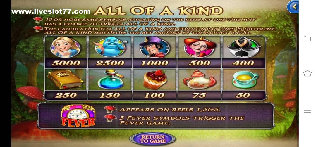 Tips & Tricks How To Win Alice Online Slot Game In XE 88 Mobile_LiveSlot77