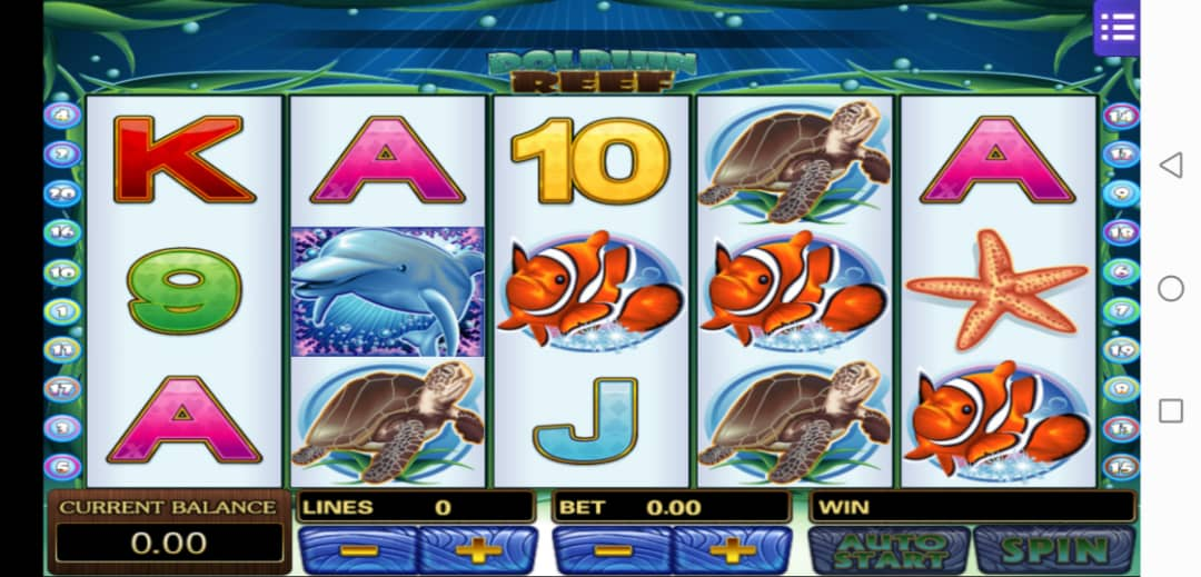 Dolphin Reef Slot Machine in Mega888 Free Download