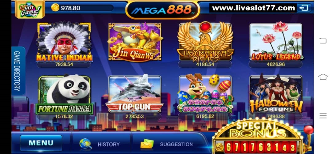 Join & Play Fortune Panda Slot In Mega888 APK Download 2020 LiveSlot77