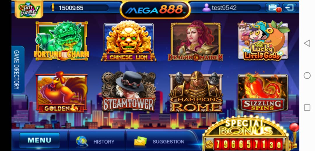 Final Thought of Sizzling Spins Classic Slot in Mega888 iOS Android Dekstop