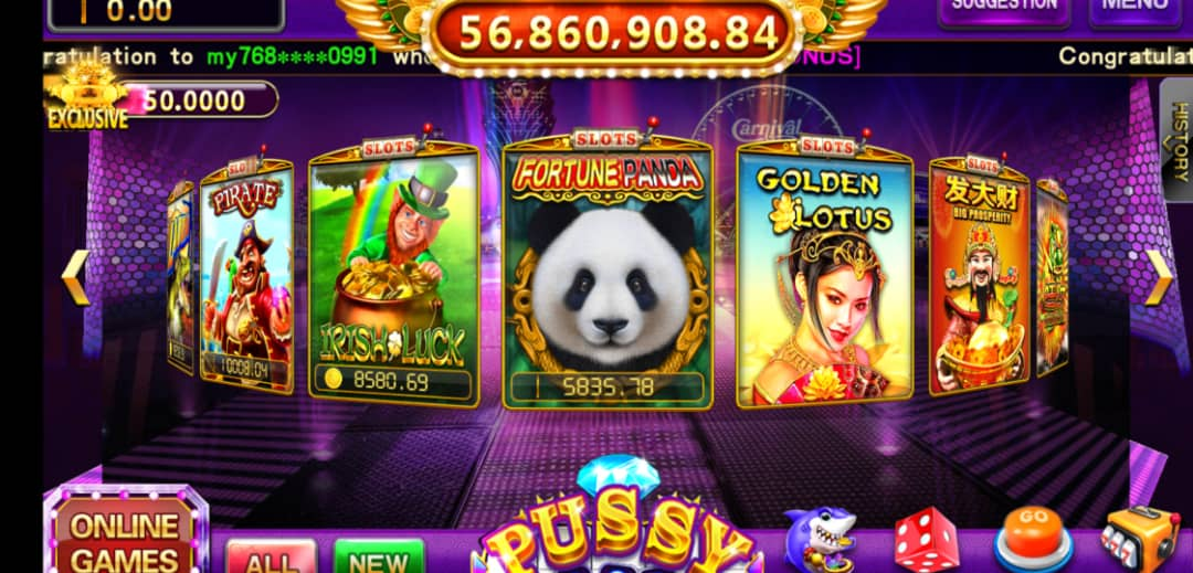 Final Thought of Fortune Panda Mobile Slot in Pussy888 Login Online