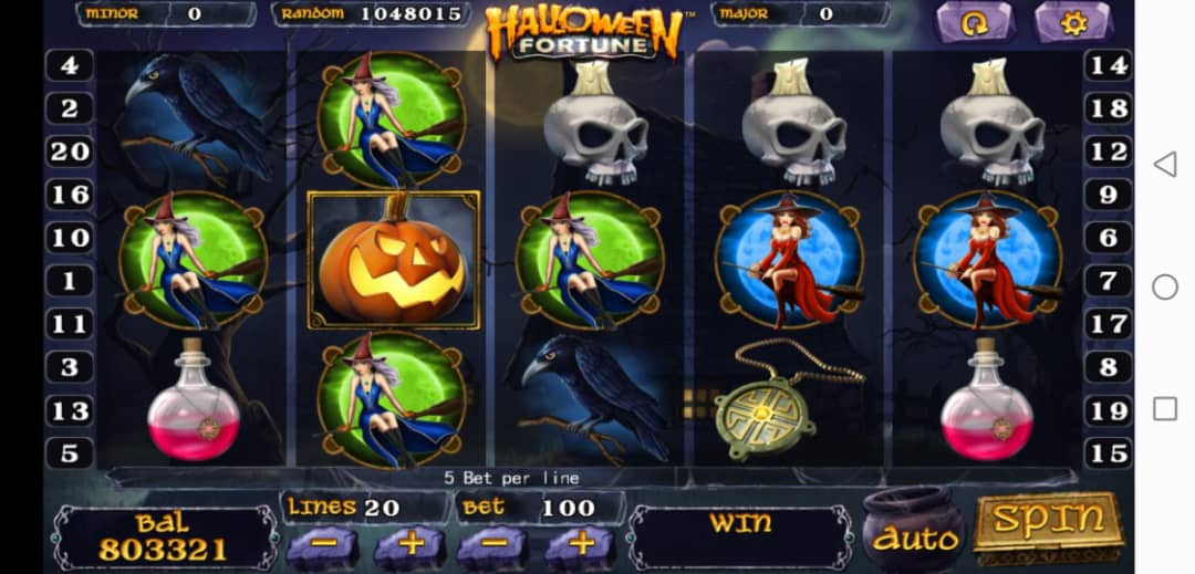 Review of Halloween Fortune Slot Machine in 918Kiss Free Login