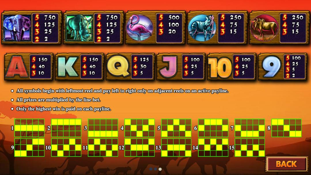 Gameplay of Safari Heat Mobile Slot in Pussy888 Free Download