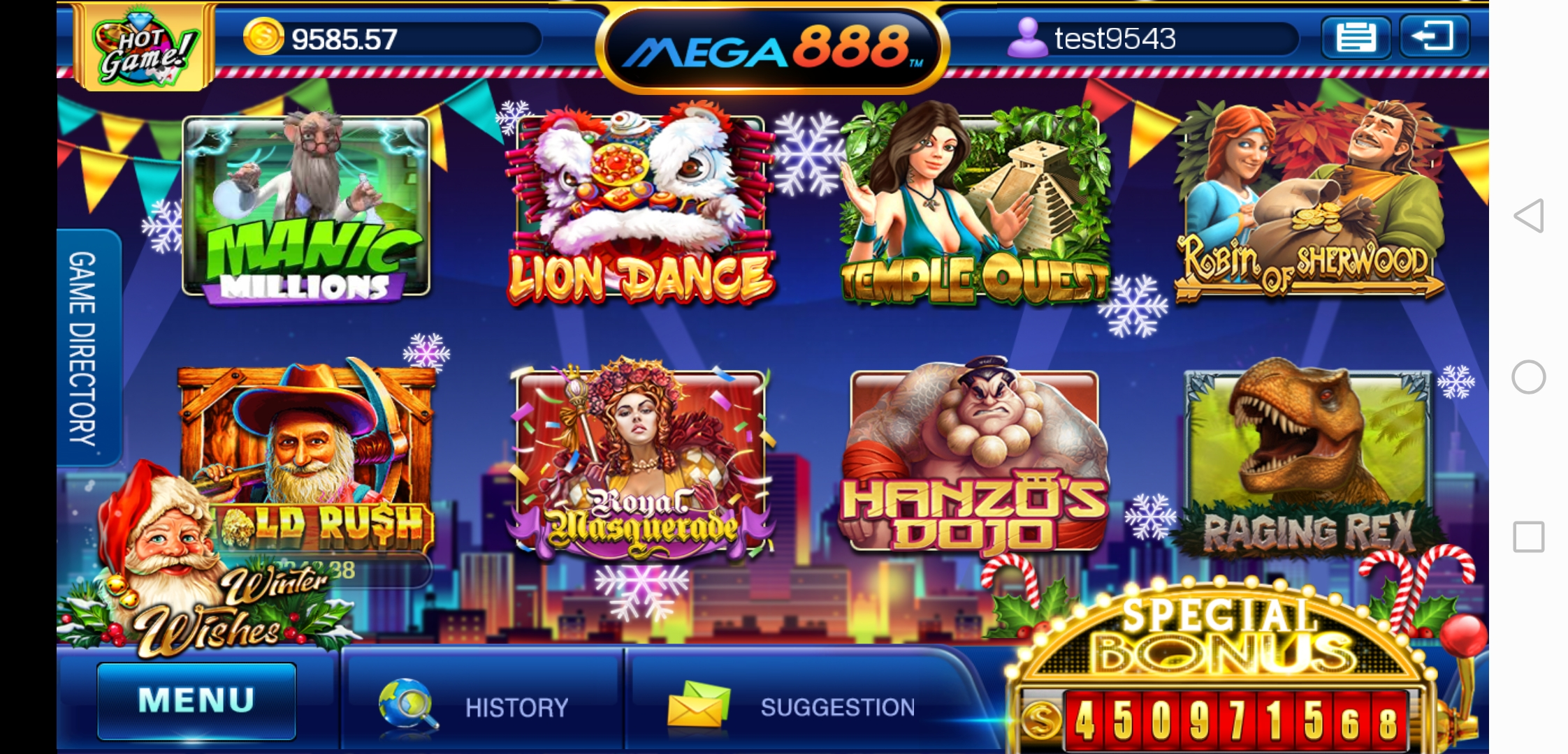 Royal Masquerade Theme Mobile Online Slot in Mega888 apk Download